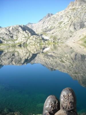 Juste derrière le Lac Vert : le Lac Noir.