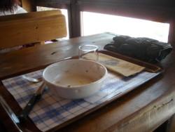 La fin du repas !!