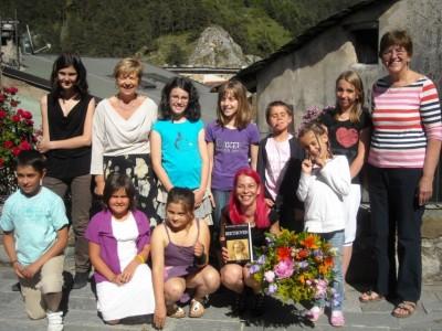 Ann et ses élèves.