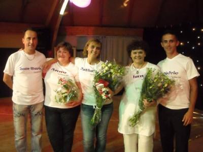 Jean-Marie, Anne, Nathalie, Nany, Cédric.