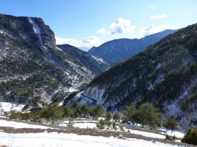 De l'ancienne route du Col de Tende.