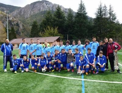Les U15 de l'AS Roya et Saint Sylvestre