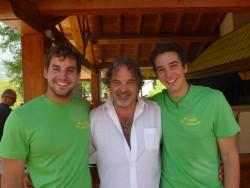 Remy, Angello et Florent : des hôtes sympathiques et souriants !