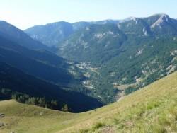 """Vue sur la vallée, et """"d'où je viens"""