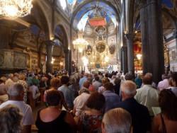 Célébrée par le Père Pineaud. Denis Frémin à L'orgue, Dima Stipkin au violoncelle.
