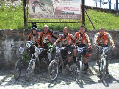 VTT Haute Roya (une partie de la Team)