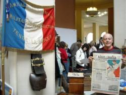 Armand, en 2010 lors d'une exposition au Palais de l'Europe de Menton.