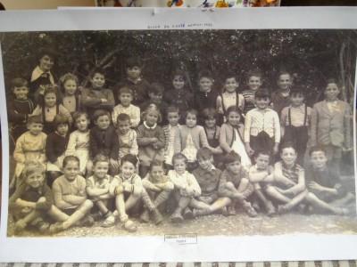 Grand collectionneur, Armand a conservé sa photo de classe de 1954... retrouvez-le!