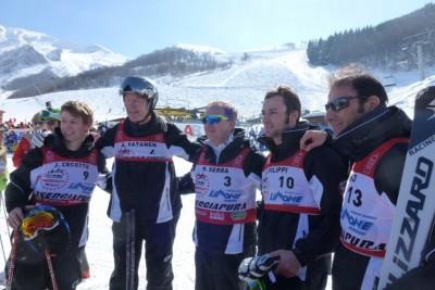 J.Cecotto, A.Vatanen, M.Serra, président de l'association, L.Filippi et E.Pirro.