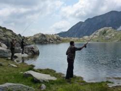 Lac Fourca (2193m).