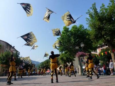 Lanceurs de drapeaux de Cherasco.