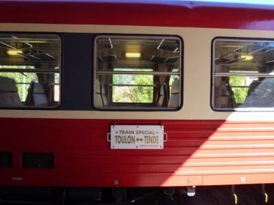 Toulon - Tende - Toulon : Train spécial !