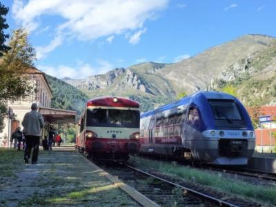 1967 et 2013, les train des Merveilles et ses différentes facettes.