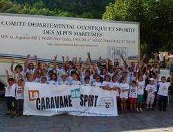 Caravane du Sport : souvenir 2013.