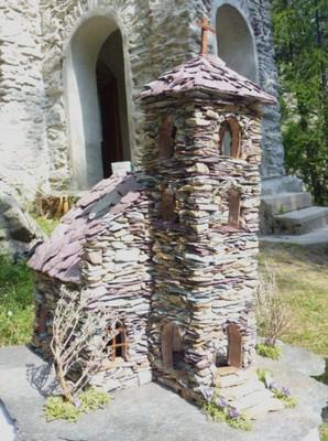 """La chapelle Saint Barbe """"miniaturisée"""