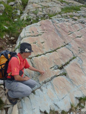 Les guides de MGD sont reconnaissables à leurs polos rouge au logo jaune...et parfois à leur chapeau!