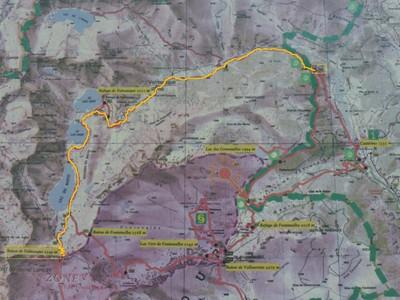 Carte IGN3841OT vallée de la ROya vallée des Merveilles