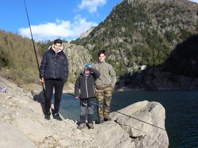 Antoine, Leo et Quentin.