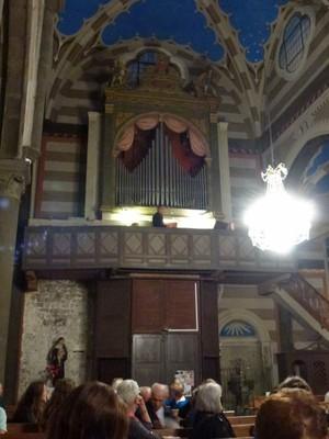 Les orgues Serassi, Collégiale ND de l'Assomption.