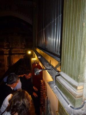 Orgues Serassi : Dans les coulisses avec l'organiste!