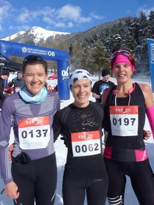 Maria Mederos, Lisel Merello et Céline Bousrez