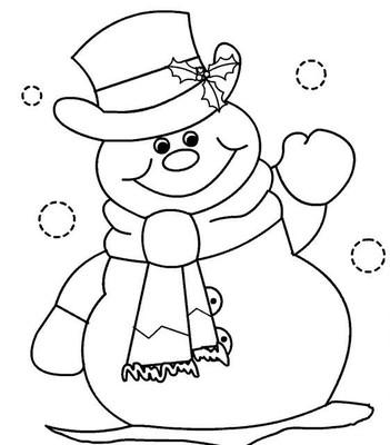 D'autres coloriage sur https://www.buzz2000.com/coloriage-bonhomme-de-neige.html