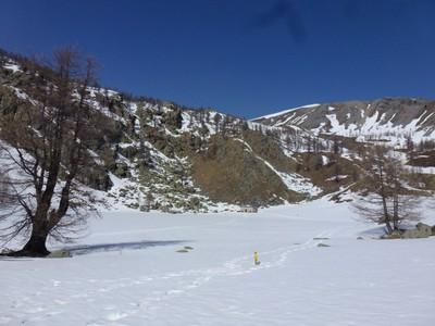 Le Lac des Grenouilles (sous la neige)