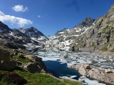 Le Lac Basto et la baisse de Valmasque