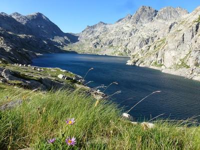 Lac Basto et la baisse de Valmasque