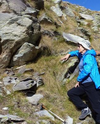 Emilia dans ses montagnes.