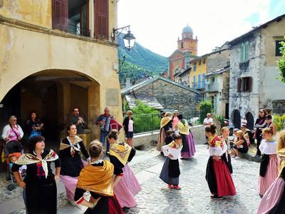 Le groupe folklorique du Vieux Tende