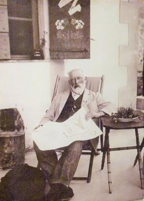 "Clarence Bicknell dans sa ""Casa Fontanalba"