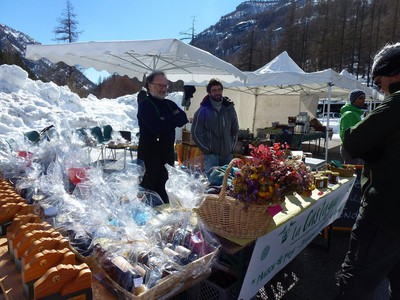 La Castagna, produits locaux.