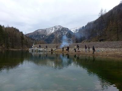 Au lac de Castérino