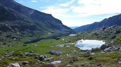 Les lacs Long et Mouton.