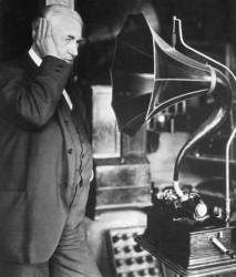 phonographe cylindrique d'Edison