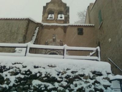 L'ermitage sous la neige