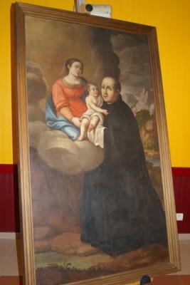 Tableau de Saint Ignace