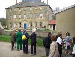 l'ex maison du père abbé de l'abbaye de Salival