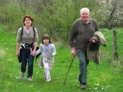 trois générations en marche ...