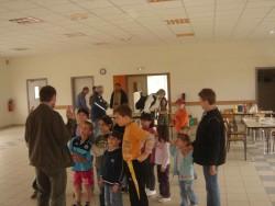 préparation des équipes de jeunes