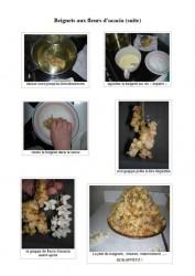 recette beignets acacia (suite)