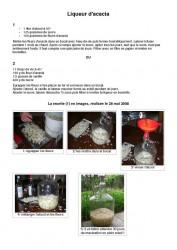 recette liqueur acacia