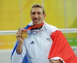 médaille d'or Alain Bernard