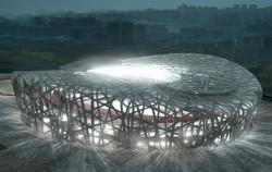 JO 2008 : le nid de Pékin