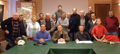 les pêcheurs à l'AG du 15 novembre 2008
