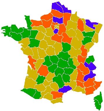 dureté eau France
