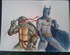 Fanart Tortues Ninja et Batman